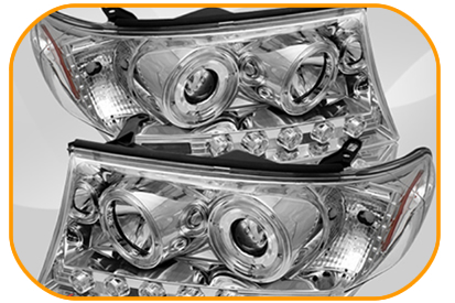 Xenon Head Lamp Set